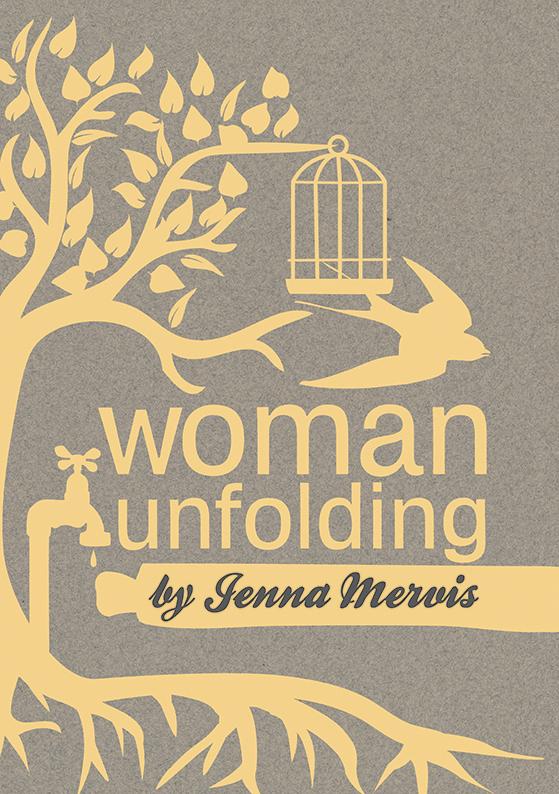 woman unfolding